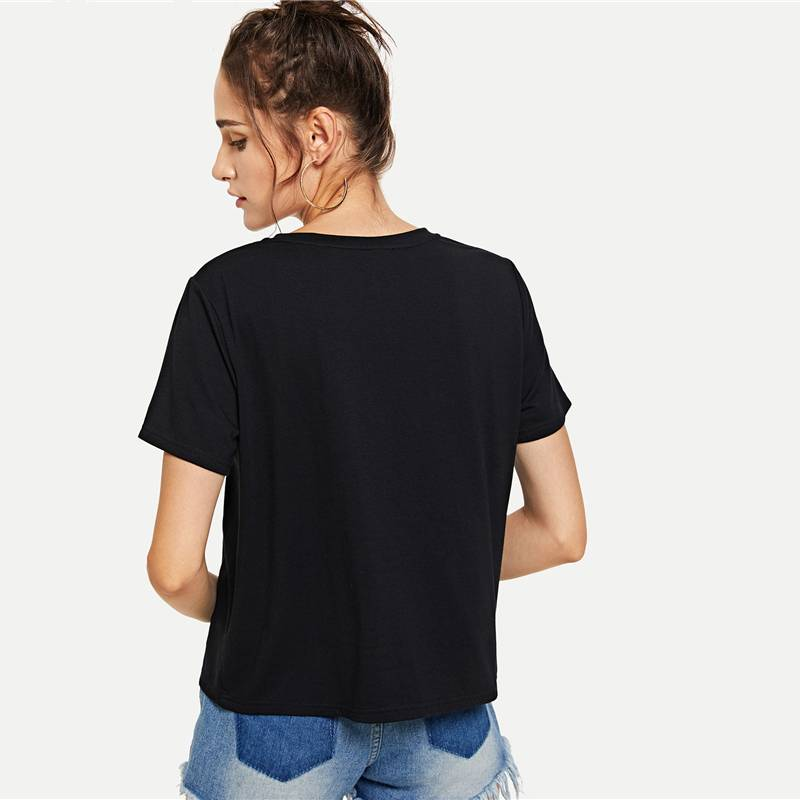 Short Sleeve Casual  Tee