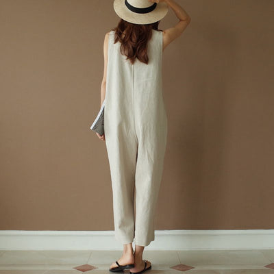 Plus Size Vintage Jumpsuit