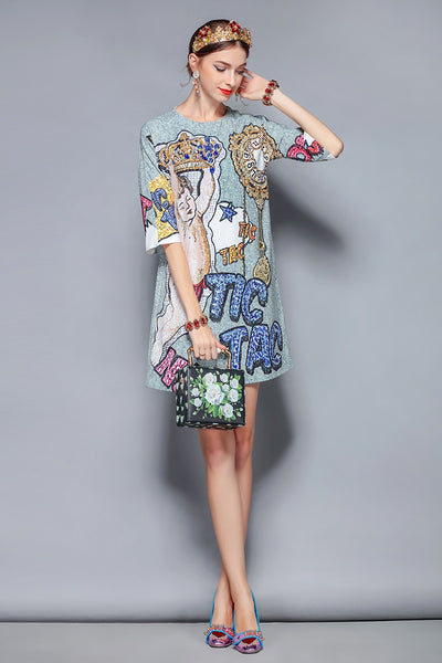 Runway Retro Vintage Dress