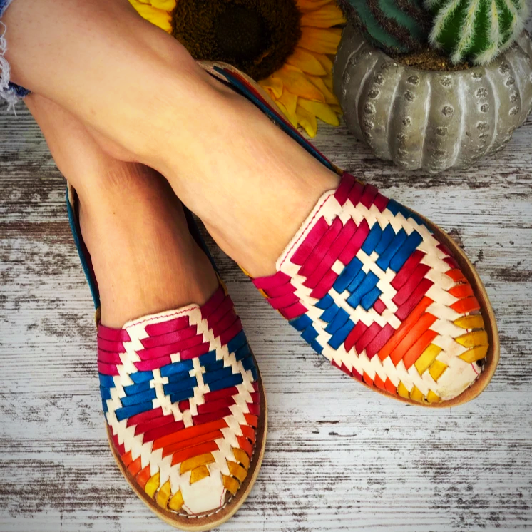 Mexican Leather Shoes