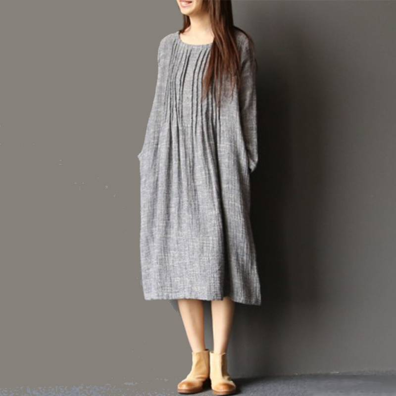 Plus Size Vintage  Shirt Dress