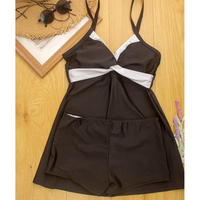 Two Piece Skirt Swimsuit