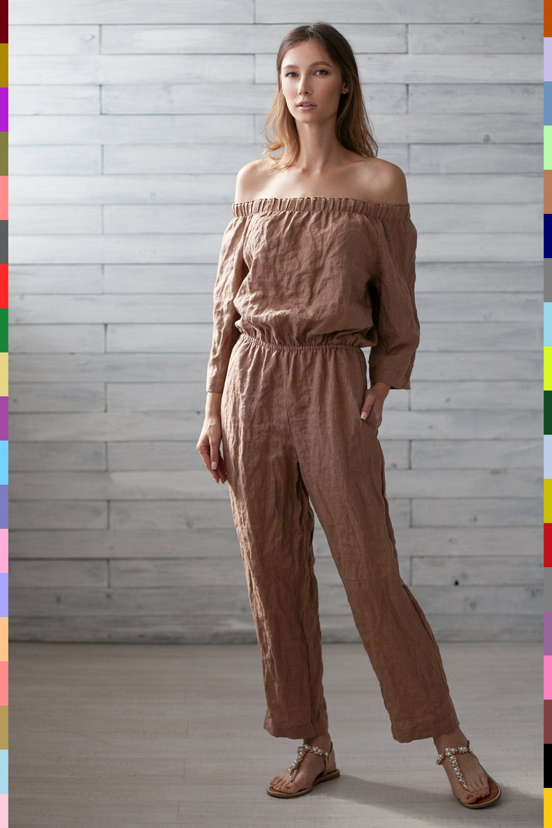 PURE LINEN JUMPSUIT
