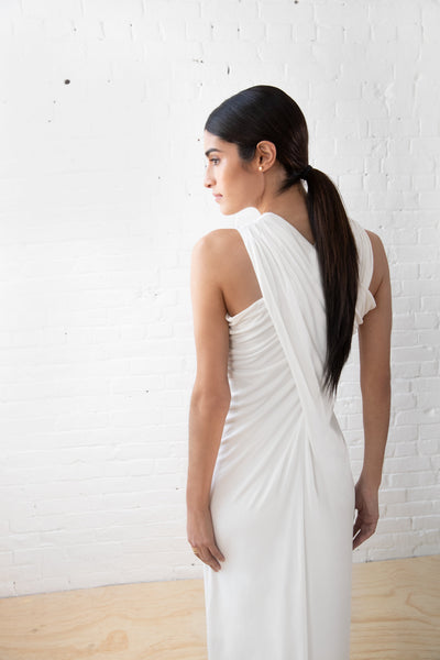 Long Summer Drape Gown