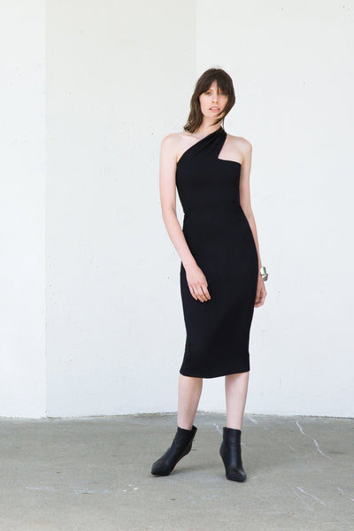 FITTED SLEEVELESS COCKTAIL DRESS
