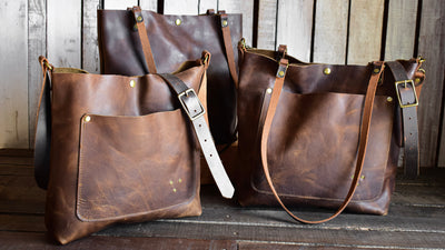 Limited Edition Leather Tote Bag