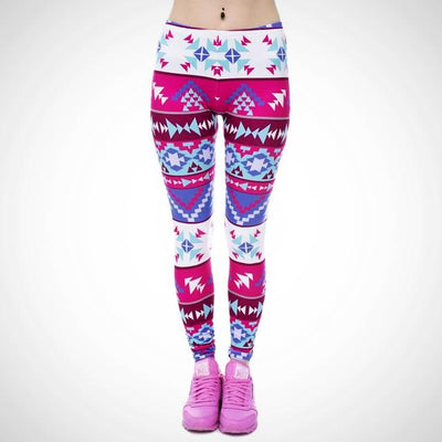 Ladies multicolor print Legging