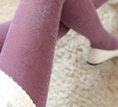 Winter Hollow Velvet Tights