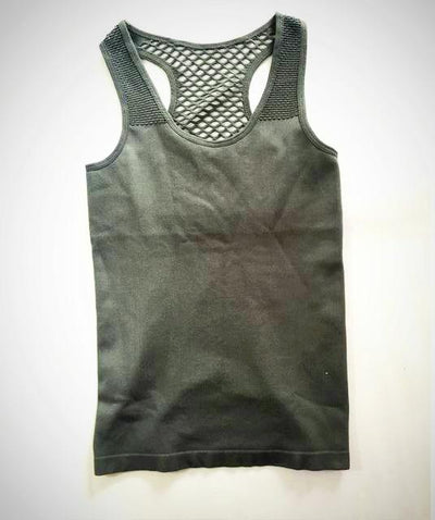 Ladies Knitted Yoga Tank Top