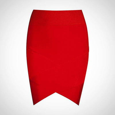 Ladies Mini Elastic Bandage Skirt