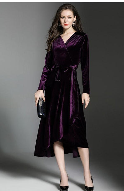 Plus Size Casual Evening Dress