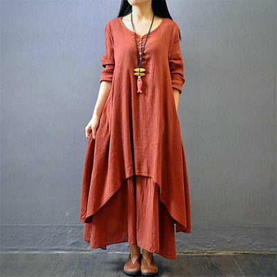Plus Size Casual Maxi Dress