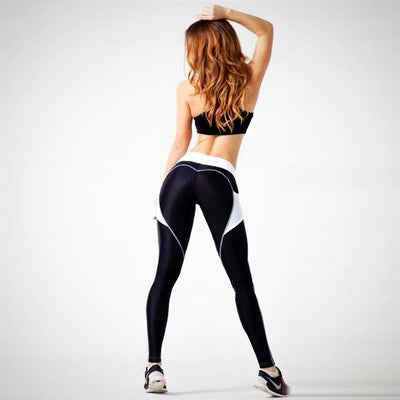 Ladies Knitted Fitness Legging