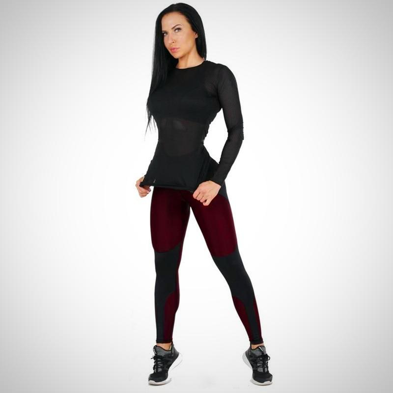 High Waist Ankle-Length Workout Leggings