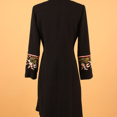Ladies Full Sleeve Designer Floral Embroidered Coat