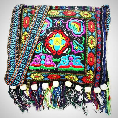 Vintage Style Ethnic Shoulder Bag