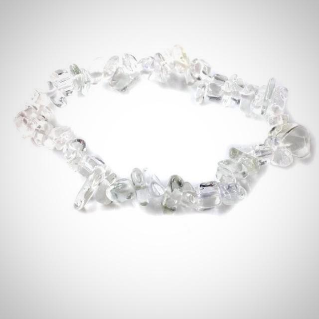 Natural Stone Crystals Chips Strand Bead Bracelet
