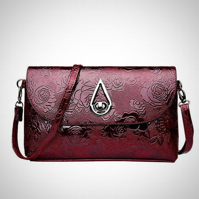 High Quality Patent Leather Cross Body Shoulder Bag