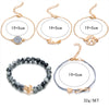 5 Pcs/ Set of Crystal Beads Bracelet
