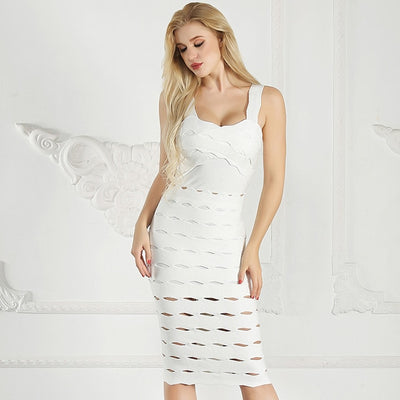 Spaghetti Strap Bandage Party Dress