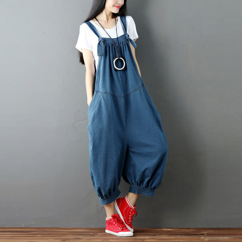 Cross Pants Female Jumpsuits