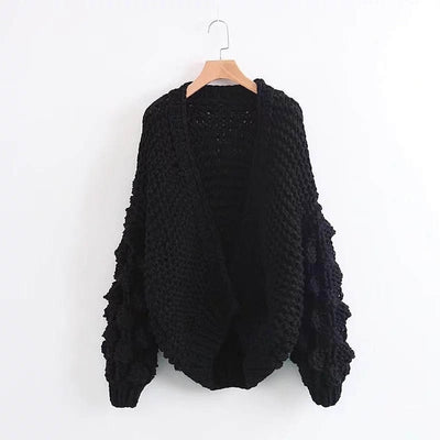 Knitted Crochet Sweater