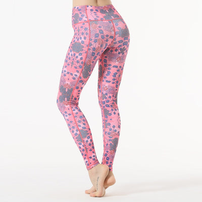 High Waist Yoga Slim Elastic Leggings