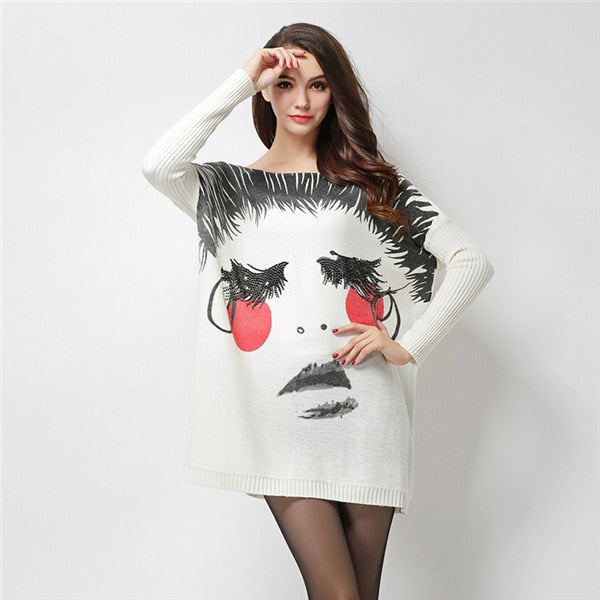 Clothes Long Sleeve Fashionably styled Pullover Sweater