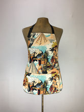 Aztec Legends print handcrafted double sided apron