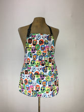 Lucha Libre MASCARITAS print handcrafted double sided apron