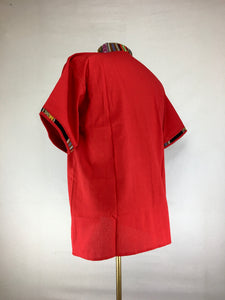 Peruvian Top - Red