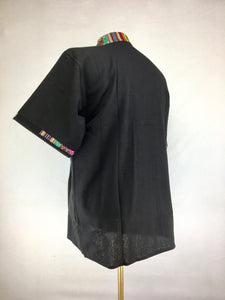 Peruvian top - Black