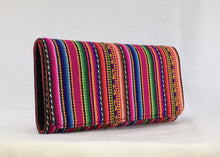 Red manta inca handcrafted checkbook style wallet