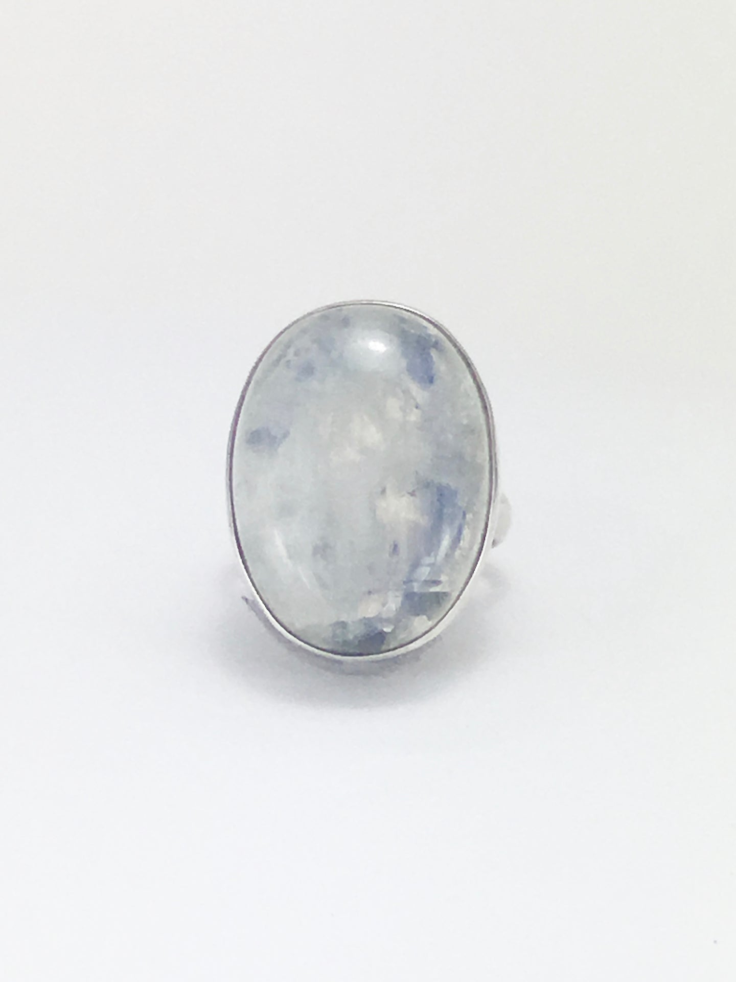 Lavender glow moonstone cocktail ring