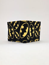 Batman bat signal classic print handcrafted billfold wallet