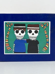 Bromos collectible art tile by Ninoska Arte