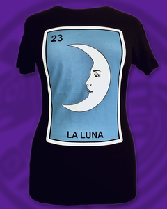 Loteria Tee La Luna womens top