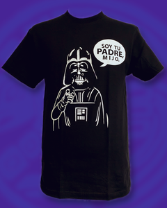 "Star Guars ""Soy tu padre mijo"" gag novelty crewneck t-shirt"