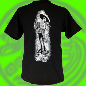 Dead accordion mariachi tee