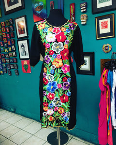 One of a kind embroidered dress