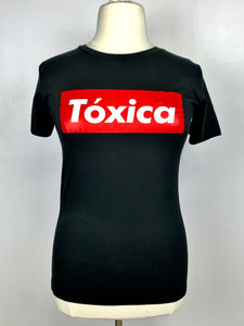 Toxica women's crew neck fitted tee