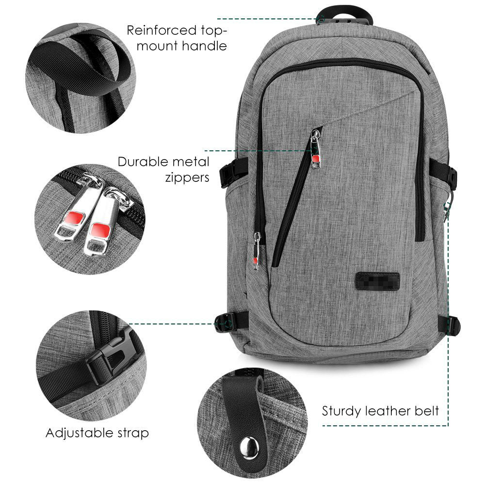 The Ultimate Travel Backpack (Lock & Charge)