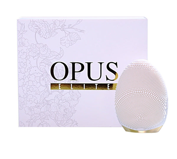 Opus elite,super charged negative ion silicone,features a 200% bigger cleaning surface enhancing it's purifying and rejuvenating, anti aging qualities