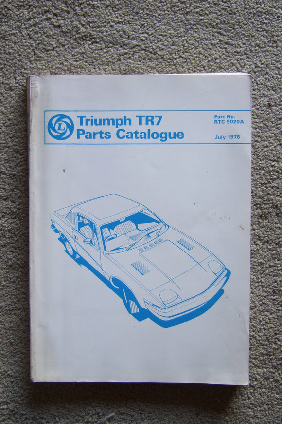Triumph TR7 Parts Catalogue