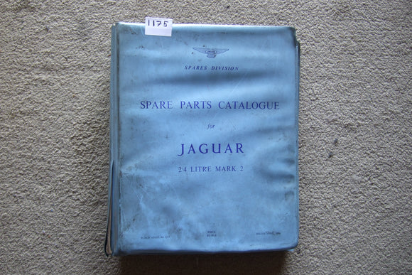 Jaguar 2.4 Mark 2 Model Spare Parts Catalogue