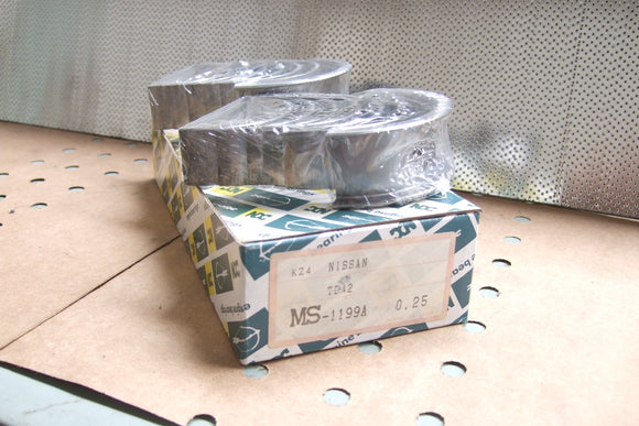 Nissan TB42. 010 / 0.25 Main Bearings