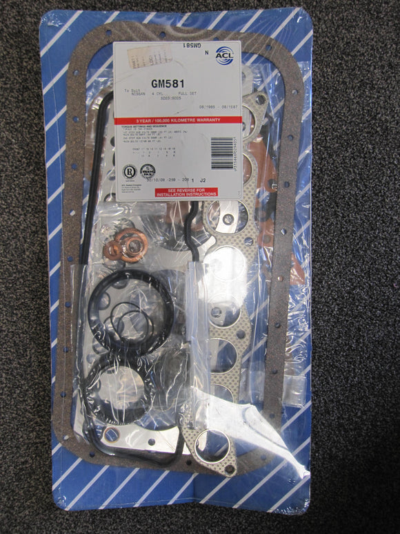 Nissan SD23, SD25 08/85 - 08/87 Full Gasket Set