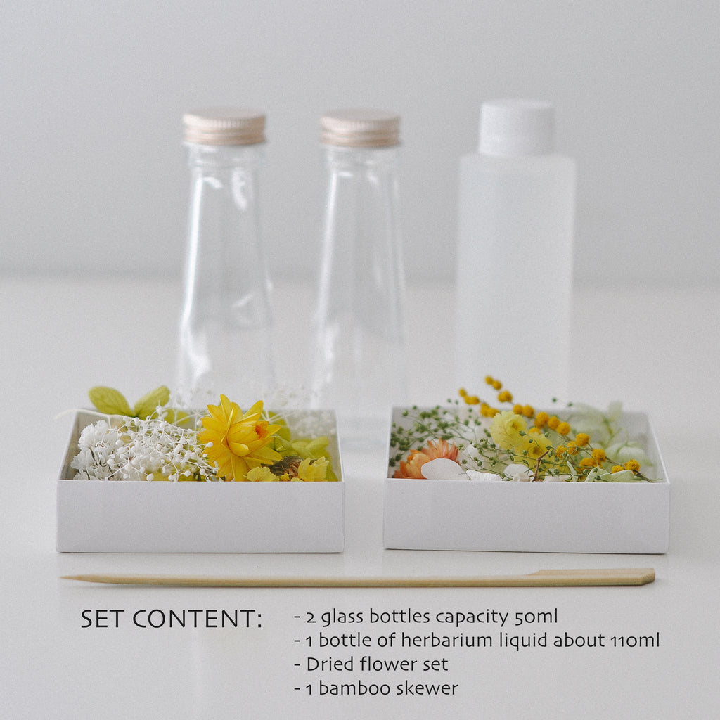 [Yellow Green] DIY Herbarium Kit