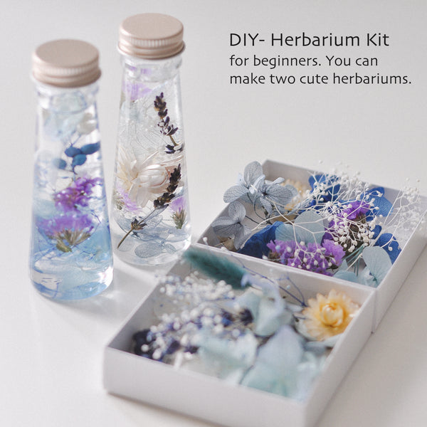 [Blue Purple] DIY Herbarium Kit