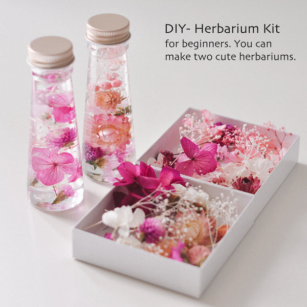 [Pink] DIY Herbarium Kit